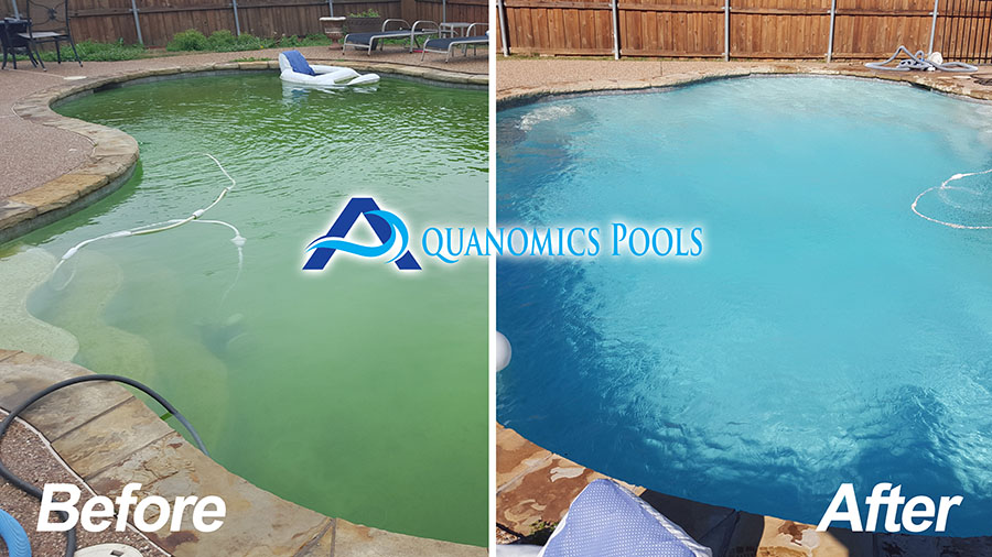 Pool Cleaning Before And After : Are your pool chemicals doing their job aquanomics pools