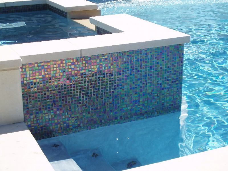 Choosing a pool tile you 39 ll love aquanomics pools for Pool tile designs