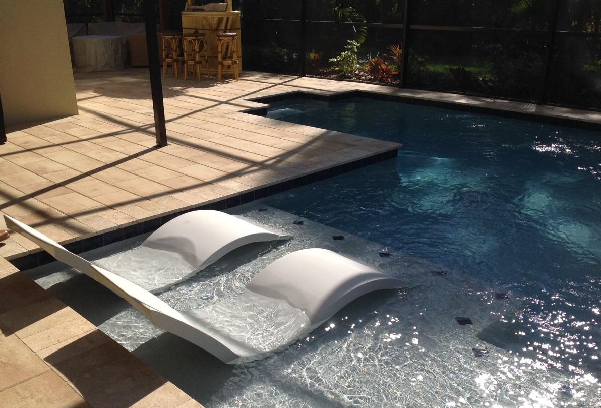 Sun Shelf Aquanomics Pools